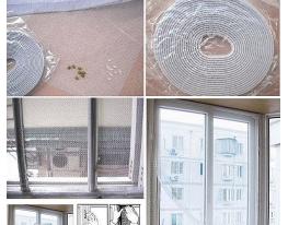 Москитная сетка на окна 150х150 см фото