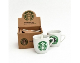 Набор чашек подарочный керамический Starbucks фото 1