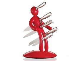 Набор ножей на подставке Кукла Вуду фото