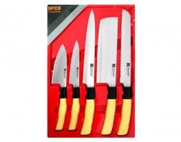 Ножи кухонные подарочные 5пр/наб фото