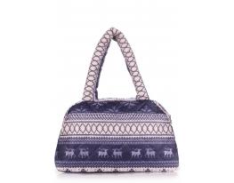 Дутая сумка Скандинавия синяя Рoolparty фото