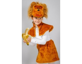 Детский карнавальный костюм Обезьянка фото