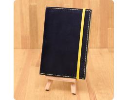 Кожаная обложка на паспорт Небо - Лимон фото