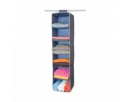 Подвесной органайзер для одежды на 6 секций фото