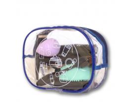 Прозрачная косметичка для бассейна/сауны/путешествий (синяя), купить, отзывы, цены, фото