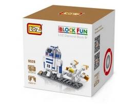 Конструктор LOZ iBlockFun 9528 Дроид R2-D2 фото