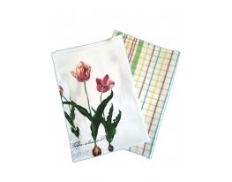 Набор кухонных полотенец Цветочное поле фото