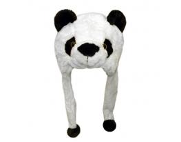 Шапка с ушками Панда фото