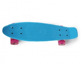 Скейт Penny board колеса ПУ светящиеся фото 3