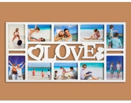 Фотоколлаж на 10 фото Любовь фото