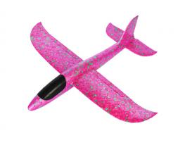 Планер метательный EXPLOSION розовый, размах крыльев 49 см фото 2