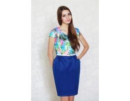 Платье - футляр Цветочный Рай фото