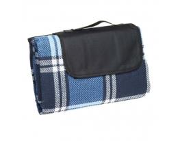 купить Плед для пикника Шотландец синий