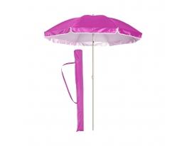 Пляжный зонт с наклоном 2.0 Umbrella Anti-UV розовый фото