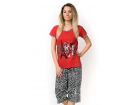 Пижама с короткими рукавами Night Ange Памук фото
