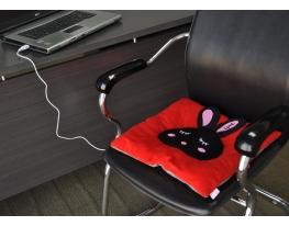 Подушка с подогревом от USB фото