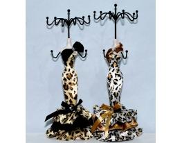 Подставка для украшений Девушка Тигрица