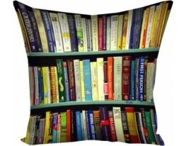 Подушка Библиотека фото