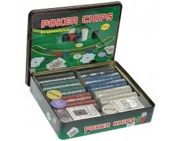 Покерный набор Professional Poker Chips 500 фото
