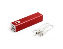 Зарядное устройство Power bank 2200 мАч Красный фото