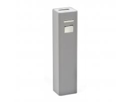 Зарядное устройство Power bank 2200 мАч Серый фото