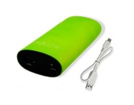 Зарядное устройство Power Bank C7 green (5200mAh)+фонарик фото