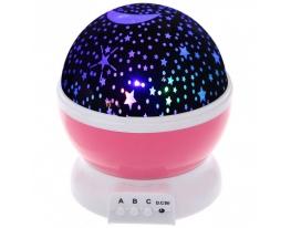 Проектор звездного неба Star Master Dream розовый фото