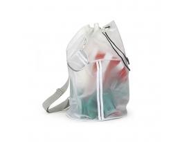Рюкзак бесцветный на лямке фото