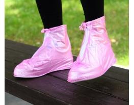 Дождевик для обуви Розовый.(М) фото