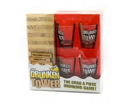 Игральний набор с Дженга Пьяная Башня фото