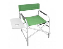 Раскладное рыбацкое кресло с подставкой
