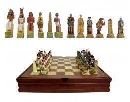 Шахматы Древний Рим - Древний Египет фото