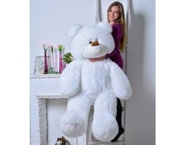 Плюшевый медведь Украина 100 см Белый фото 2