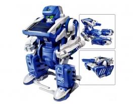 Робот-трансформер на солнечной батарее Solar Robot 3в1 фото