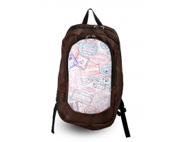 Рюкзак с фотопечатью Штампы фото