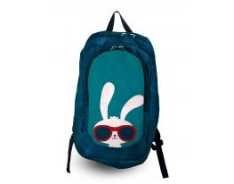 Рюкзак с фотопечатью Заяц в очках фото