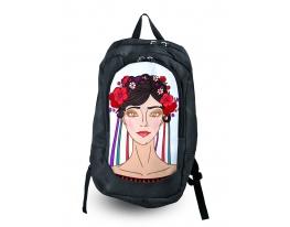 Рюкзак с фотопечатью Украиночка фото