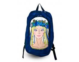 Рюкзак с фотопечатью Украиночка 2 фото