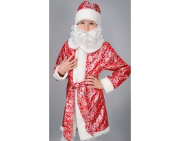Детский карнавальный костюм Дед Мороз фото
