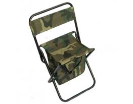Раскладной стул-сумка со спинкой Камуфляж фото