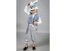 Детский карнавальный костюм Зайчик фото