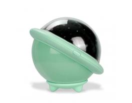 Проектор звездного неба Losso - детский ночник НЛО Мятный фото