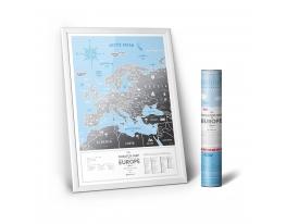Скретч карта Европы Travel Map Silver Europe фото 6