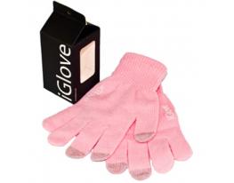 Перчатки для iРhone iGloves Розовые фото