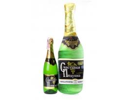 Подушка Счастливое Шампанское с кармашком фото