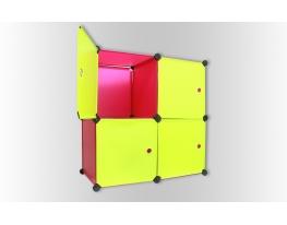 Шкаф-трансформер с дверками Ягодка фото