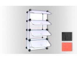 Шкаф - трансформер с дверками Айсберг фото