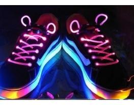Светящиеся LED-шнурки фото