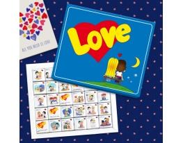Шоколадный набор Love is 150 г фото