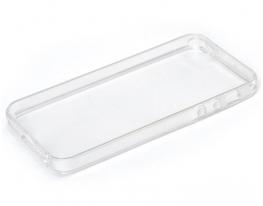 Чехол прозрачный силиконовый для iphone 5, 5s фото